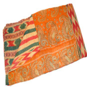 Kantha Throw - Embroidered